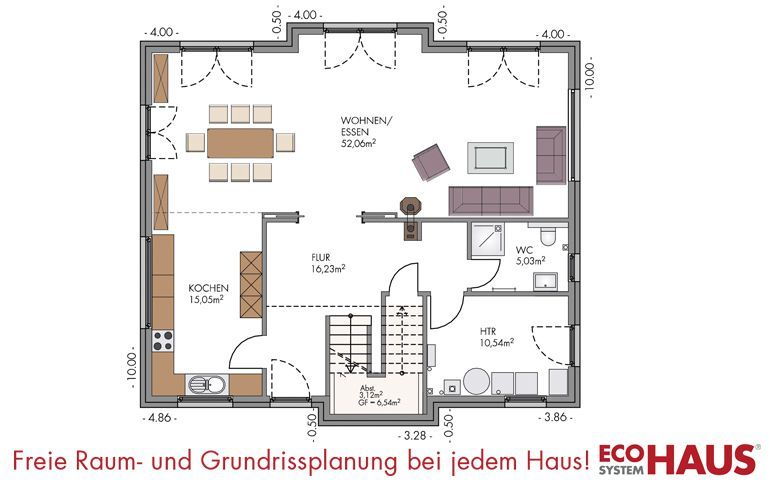 kapit nshaus 200 eco system haus gmbh. Black Bedroom Furniture Sets. Home Design Ideas
